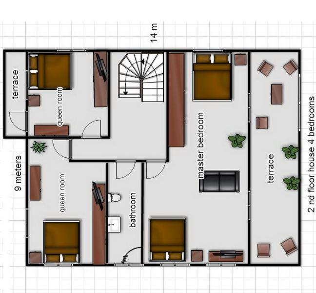 layout 2nd floor