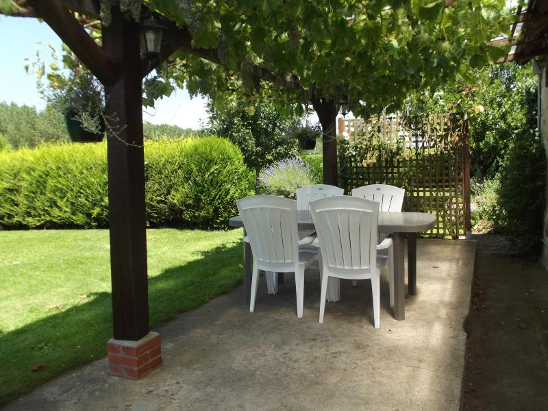 Restored farm cottage near the village of Parcay, holiday rental in Continvoir