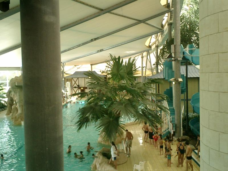 Les Antilles at Jonzac. Brilliant Swimming pool and Spa