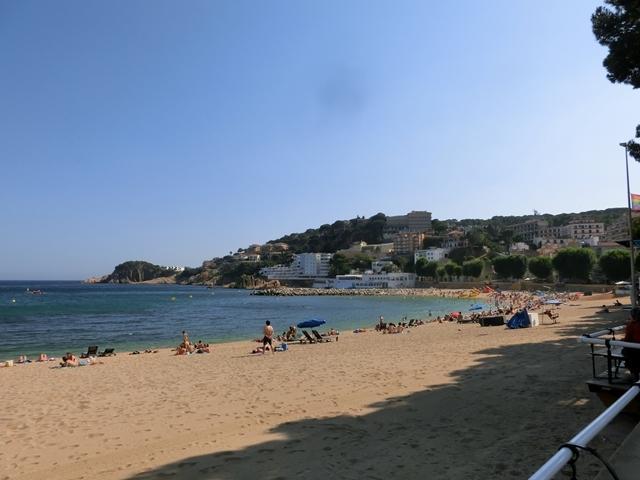 Vista Sur Playa de Sant Feliu de Guíxols a 100 m.
