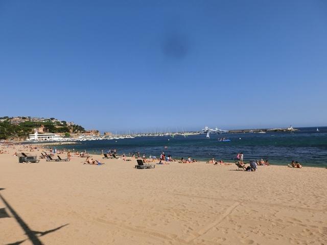 Vista Este Playa de Sant Feliu de Guíxols a 100 m.