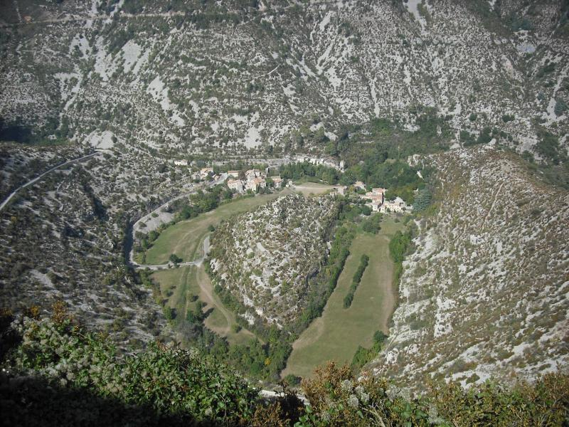 View of the Cirque de Navacelles