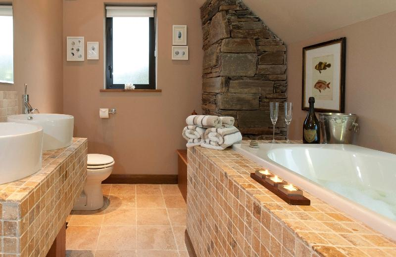Sit back and unwind in the Master Ensuite Bathroom with views over Lough Foyle