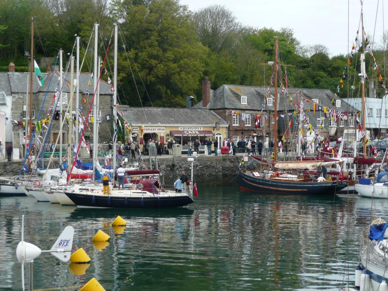 Padstow Harbour - a working port.