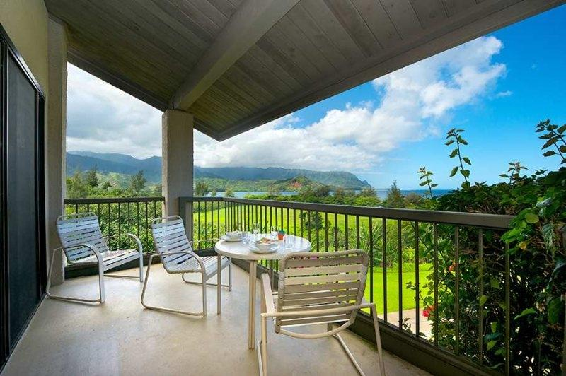 This Princeville vacation rental condo will take your breath away!