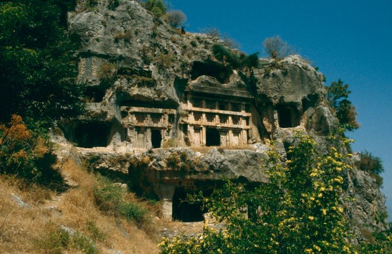 Tlos;- one of the many historic sites around Kalkan