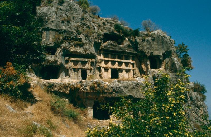 Tlos;-l'un des nombreux lieux historiques autour de Kalkan