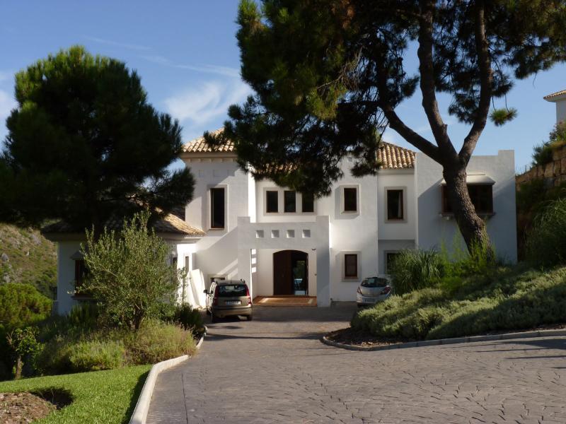 Gated Villa Entrance