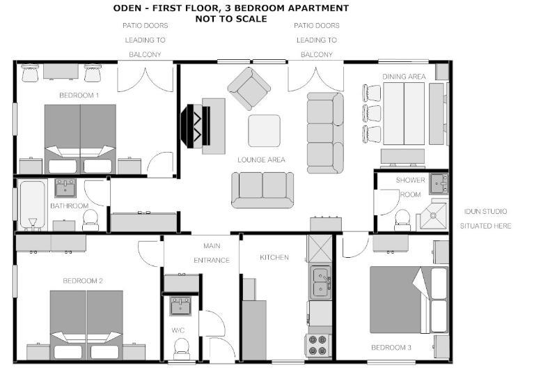 Valhalla Oden floor plan