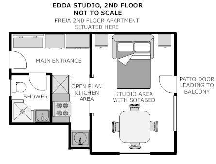 Plan d'étage Idun