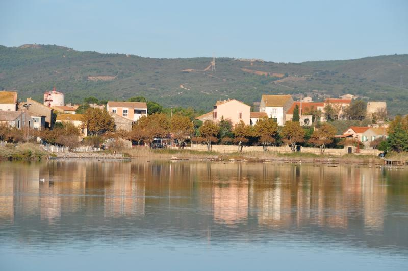 The beautiful village of Peyriac de Mer