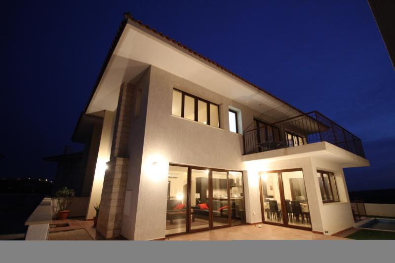 Villa Christina at night - enjoy your Cyprus dreams!