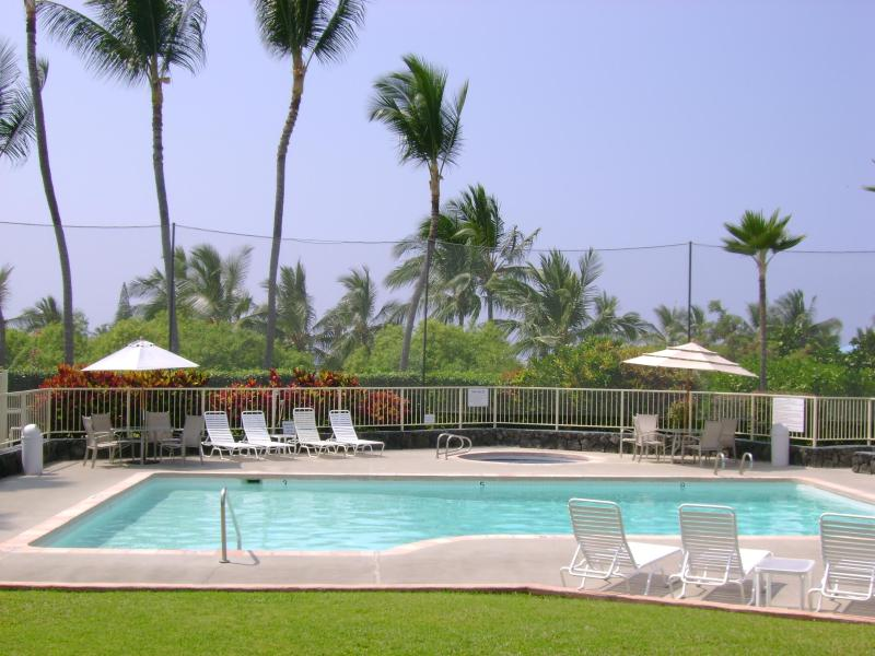 Several outdoor pools at Holua Resort