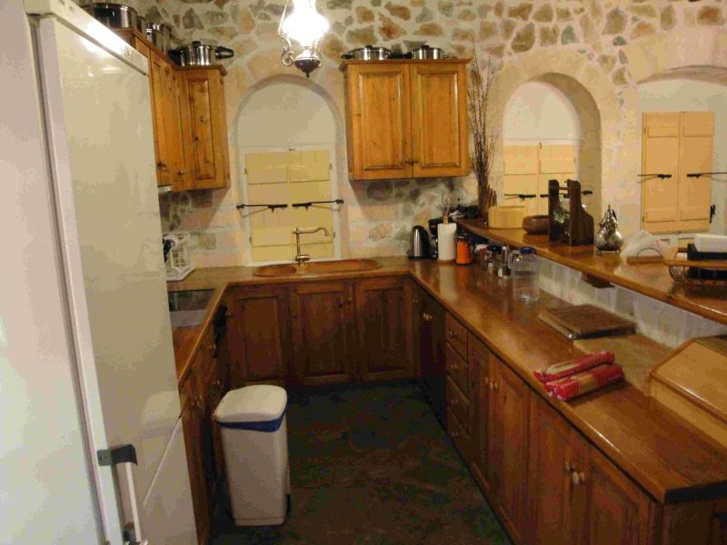 part of the second level kitchen