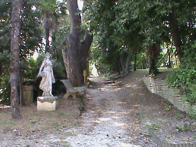 El parque de enfrente de nuestra casa