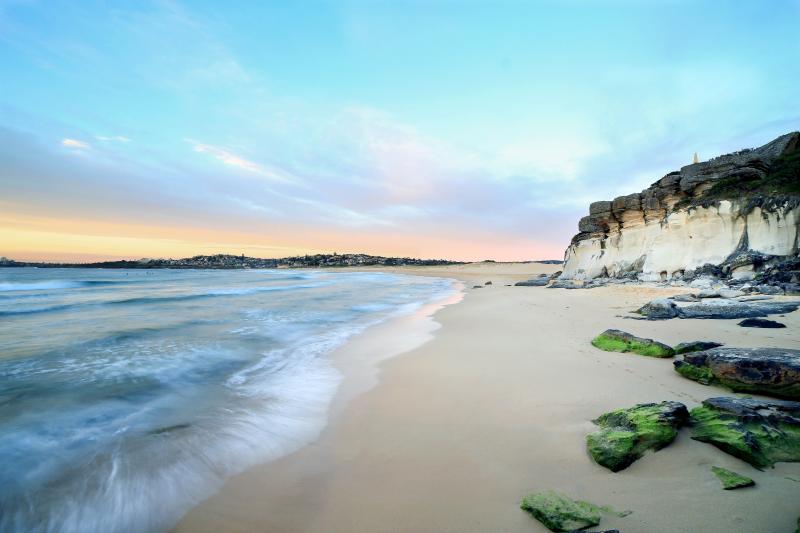 Luxury beachfront living