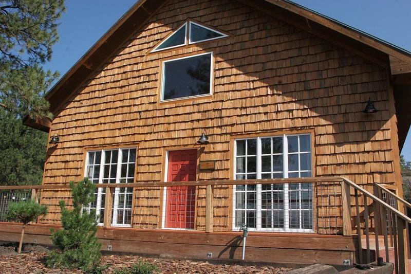 Vista stretta del cottage