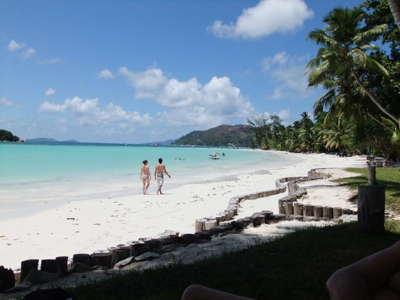 Seychelles beach.