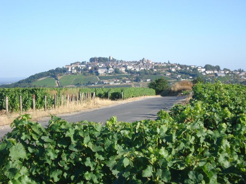 Sancerre, het beroemde wijnstadje