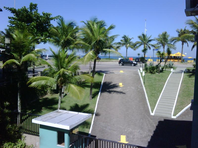 Entrance to the condominium from the beach