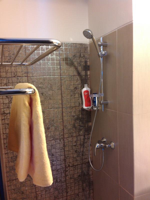 douche chaude et eau froide