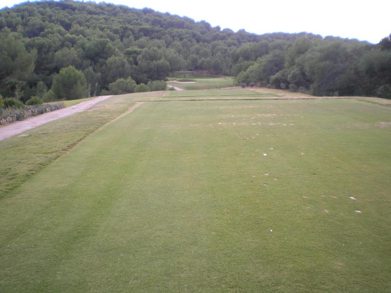The West Course From 2nd Tee