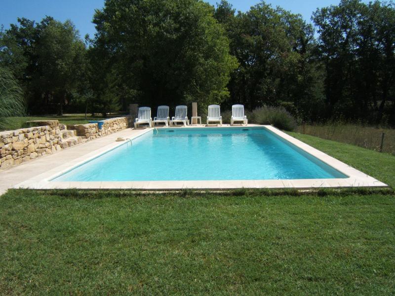 La piscine 10X5 carrelée, chauffée