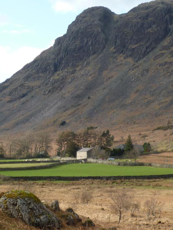 Greendale with Buckbarrow behind