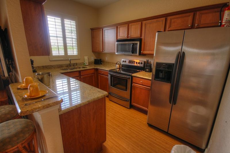 Quinn Villa - Fully equipped Modern Kitchen with granite worktops.