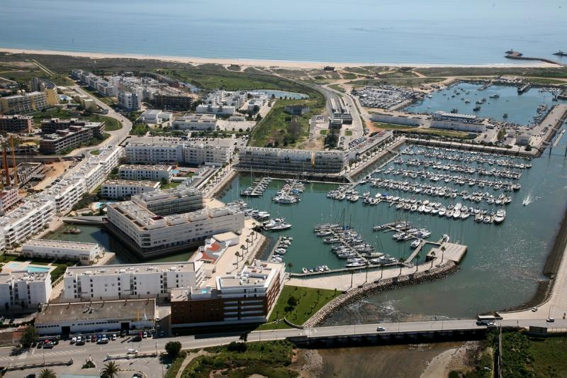 Aerial view of the Marina in Lagos