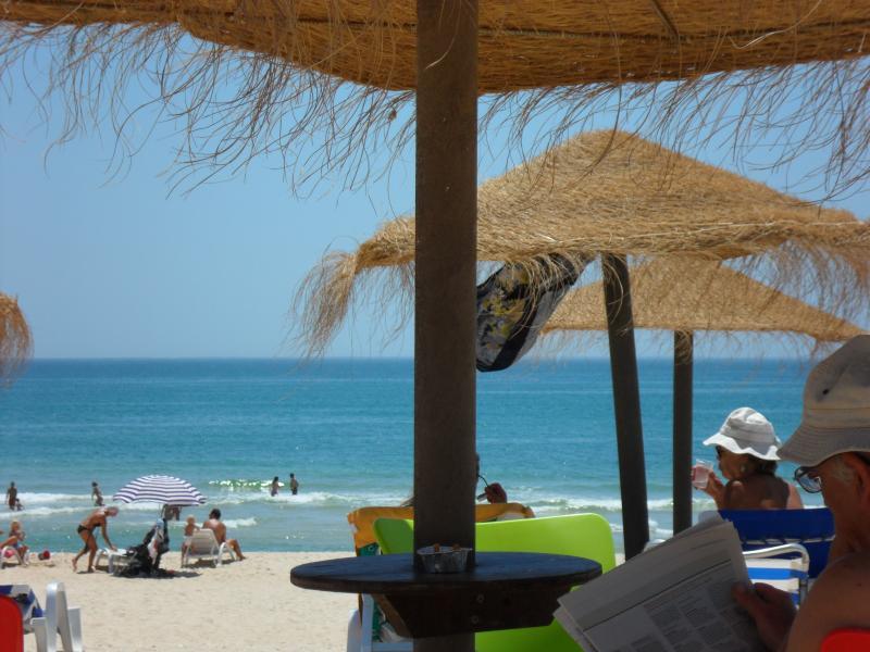 Relax en la playa de isla