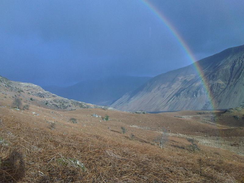 Wasdale rainbow