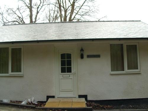 YR HEN SIOP bungalow  - Entrance