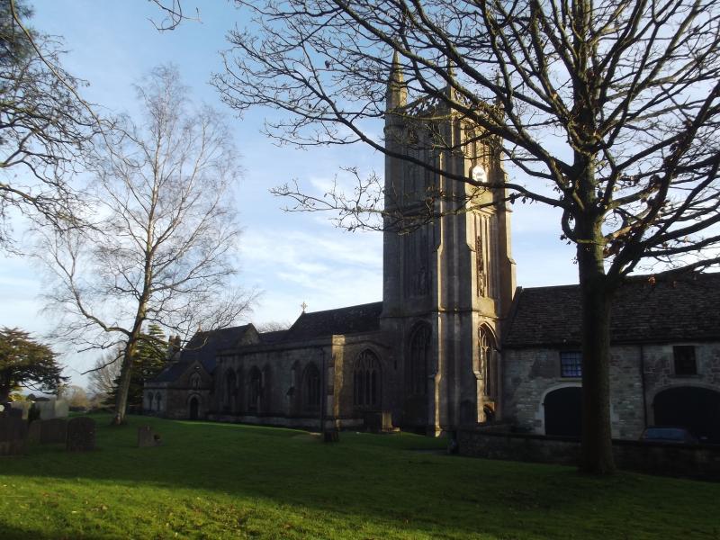 Iglesia del siglo XI de Colerne