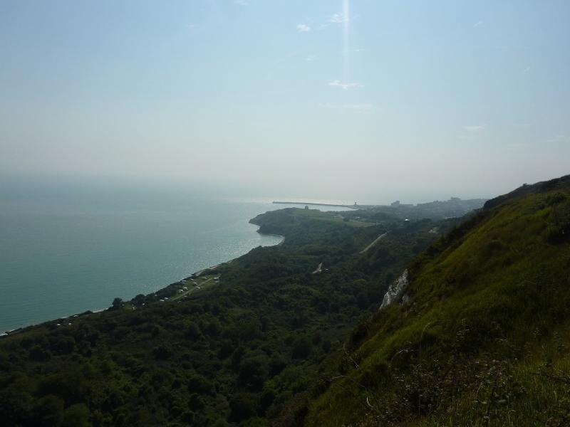 View from Capel to Folkestone