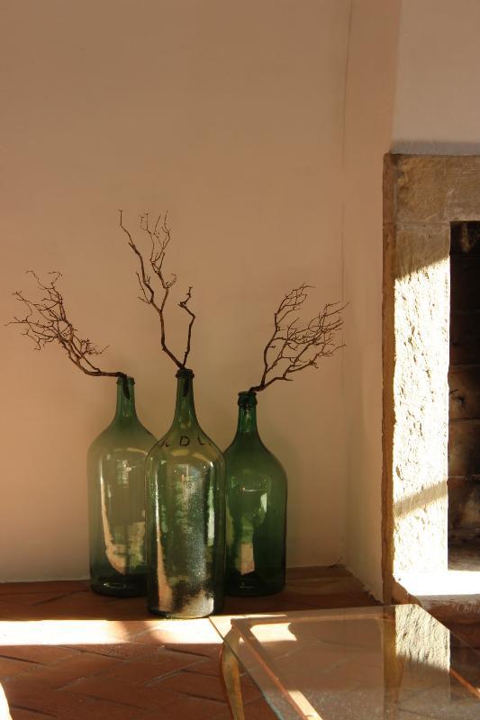 Vintage design - Old wine bottles