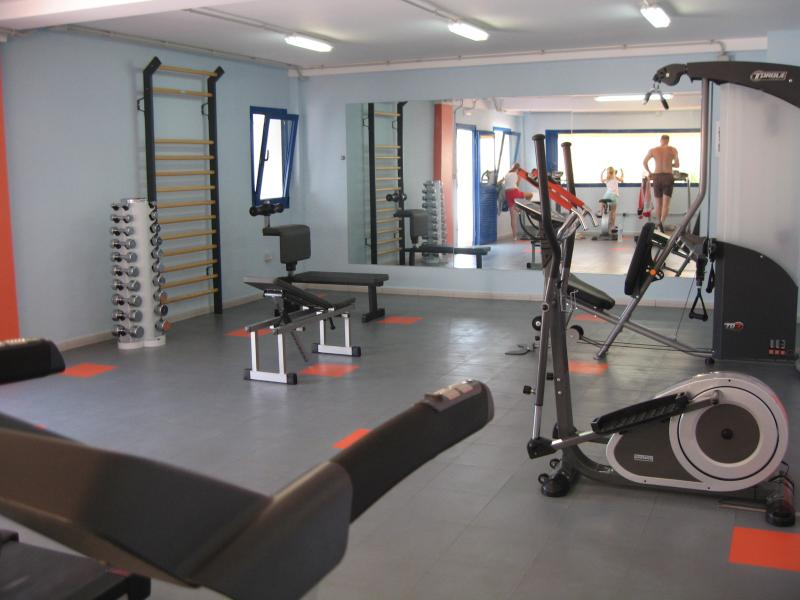 Private gym, fully equipped