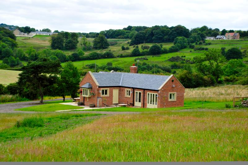 Our stunning view of rolling countryside