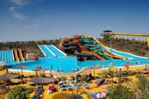 Water park at Corralejo
