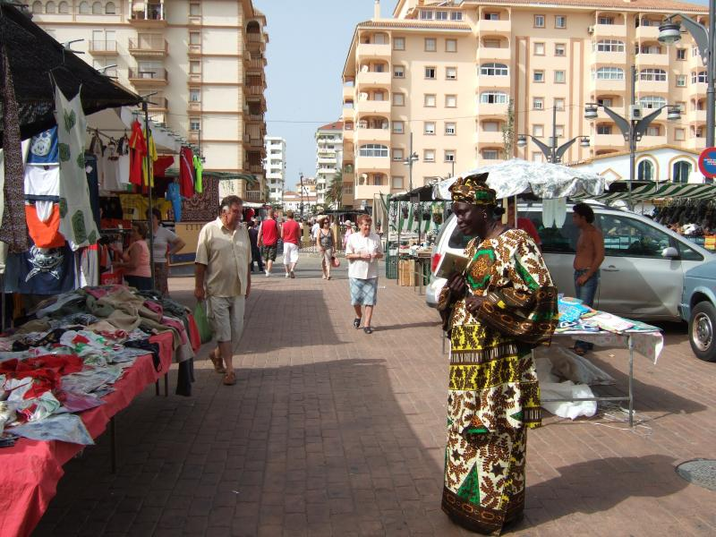Fuengirola Tuesday market (visits available by train or bus)