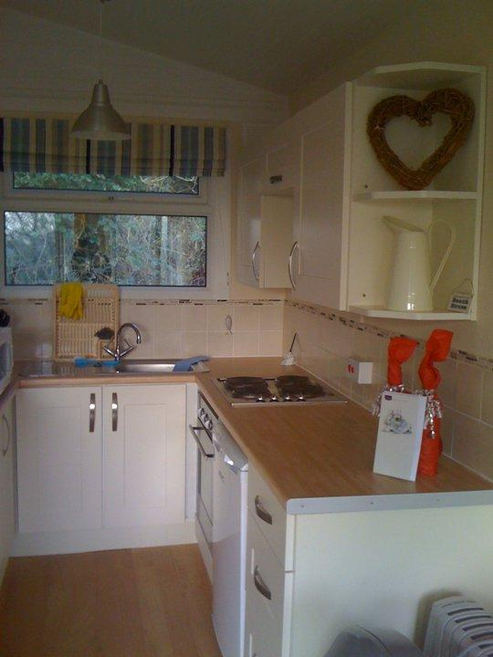 The kitchen is fully equipped. We hope we've thought of everything!