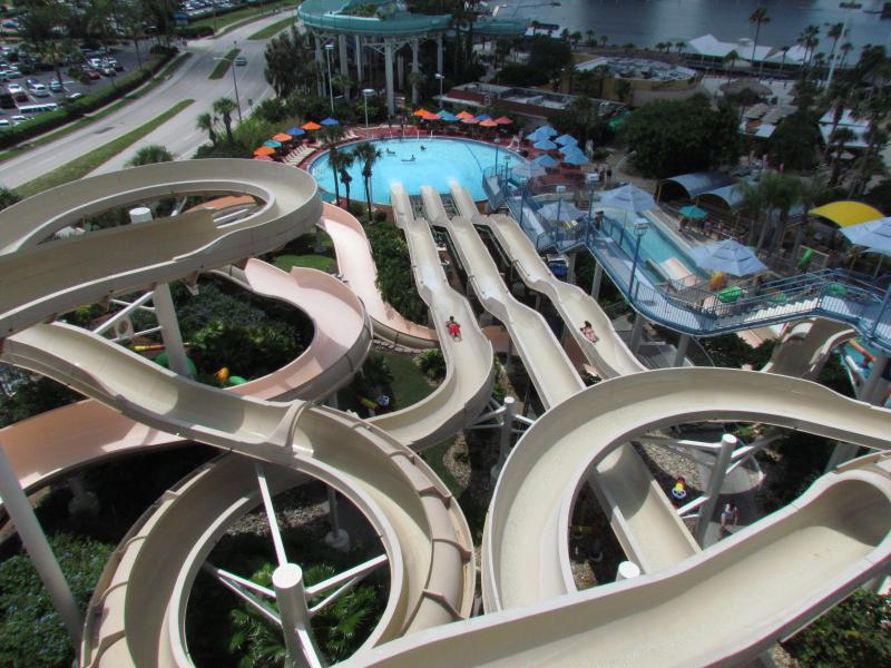 Wet'n Wild Water Park, next to the Hopi Hari.