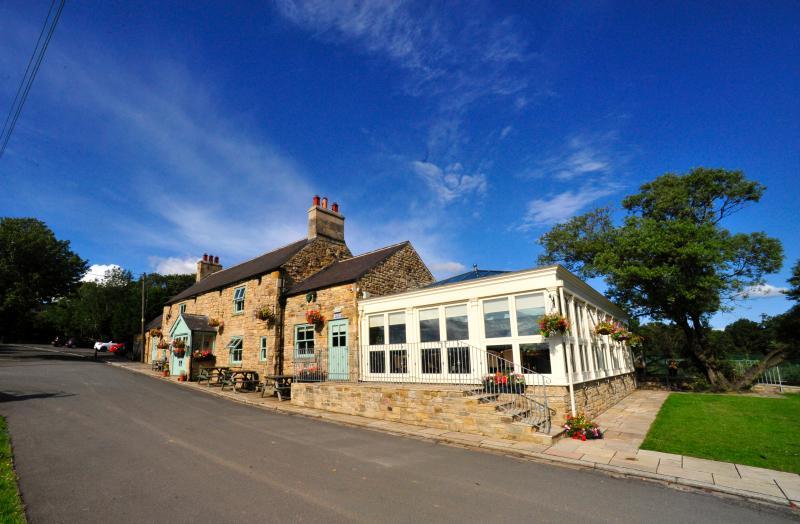 Local Gastro Pub  'Black Horse Beamish' 2 minutes walk