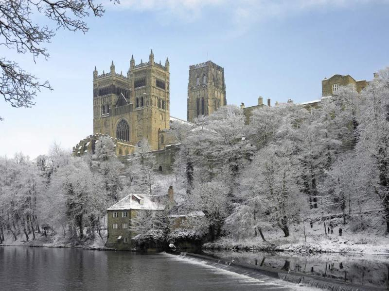 Durham Cathedral in the winter (only 15-20 minutes drive)