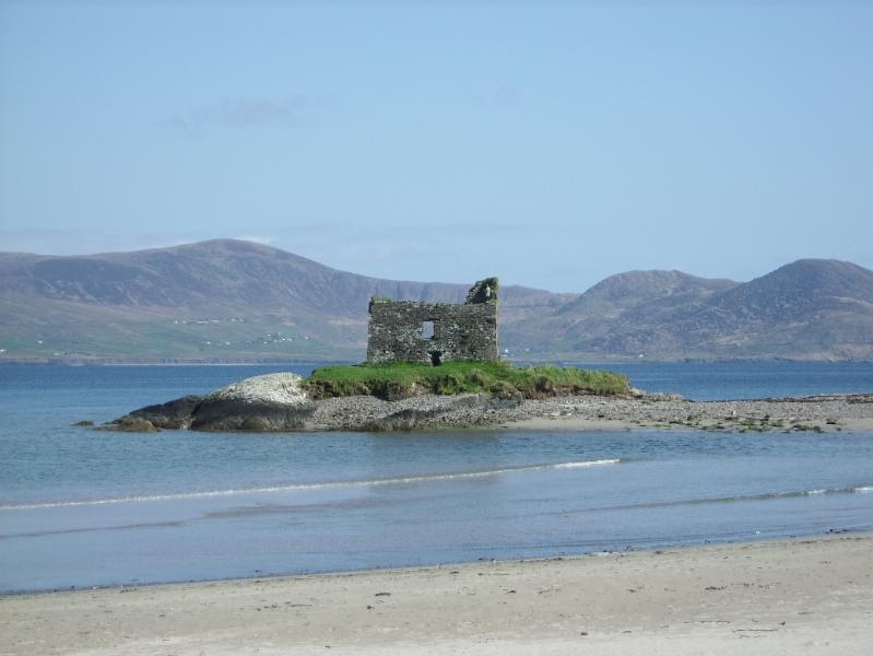 Ruin on the beach