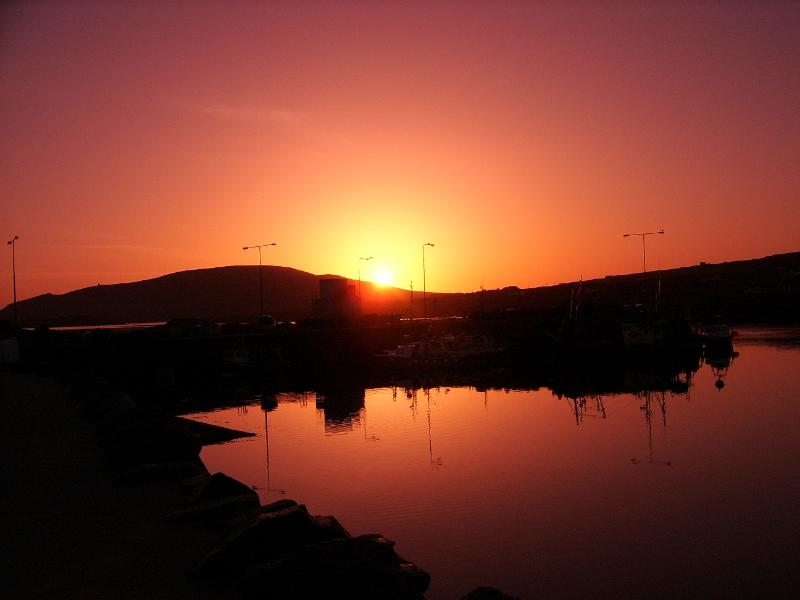 Stunning sunset in Portmagee