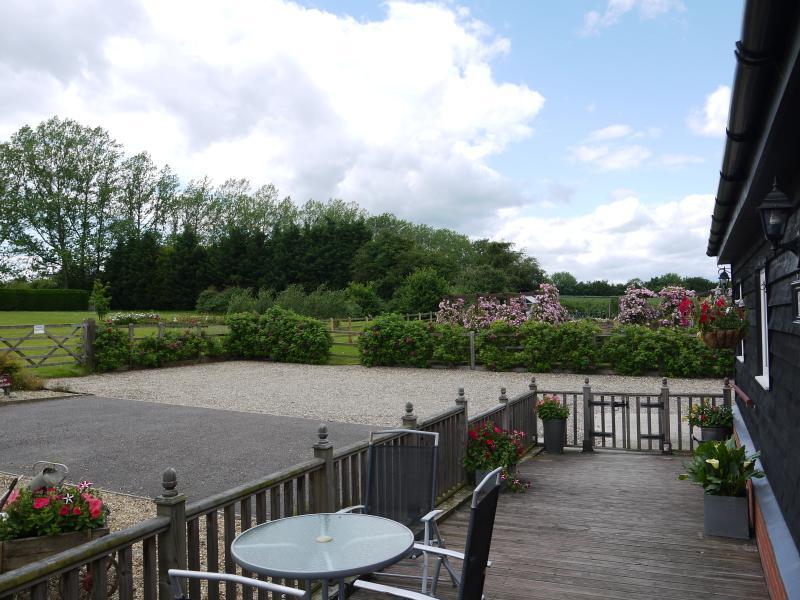 Vista desde la terraza de casa Rookyard