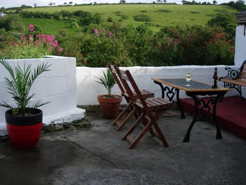 Terrace to relax and enjoy rural and sea views