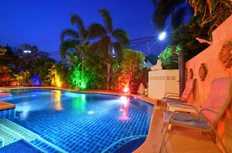 concaeled lighting in Garden and swimming pool