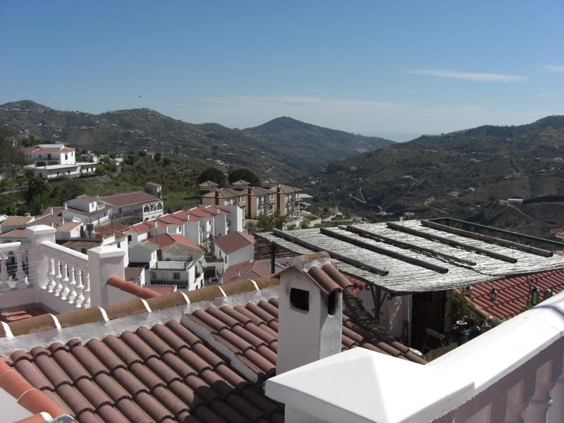View from the roof terrrace